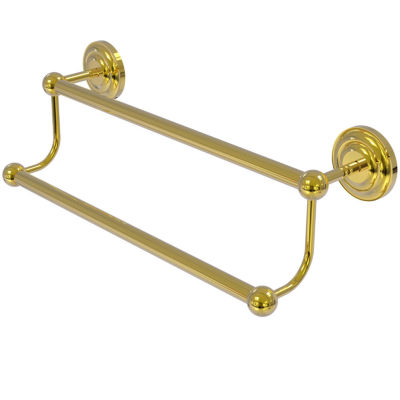 Allied Brass Prestige Que New Collection 18 Inch Double Towel Bar