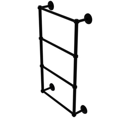 Allied Brass Monte Carlo Collection 4 Tier 30 InchLadder Towel Bar with Groovy Detail