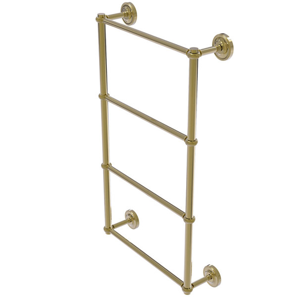 Allied Brass Prestige Regal Collection 4 Tier 36 Inch Ladder Towel Bar with Twisted Detail