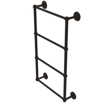 Allied Brass Monte Carlo Collection 4 Tier 36 InchLadder Towel Bar with Twisted Detail
