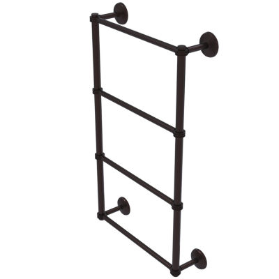 Allied Brass Monte Carlo Collection 4 Tier 36 InchLadder Towel Bar with Dotted Detail