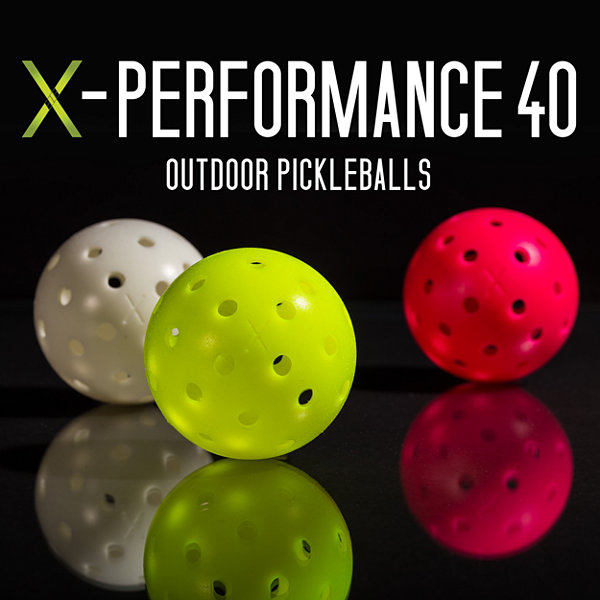 Pickleball-X 40 Performance Outdoor Balls