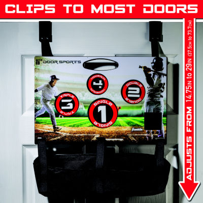 Franklin Sports Door Sports Electronic Baseball Toss
