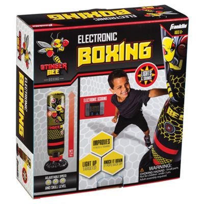 Franklin Sports Stinger Bee Inflatable Electronic Boxing Set