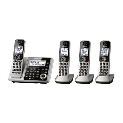 Panasonic KX-TGF374S Link2Cell Bluetooth Cordless Phone with Answering Machine - 4 Handsets