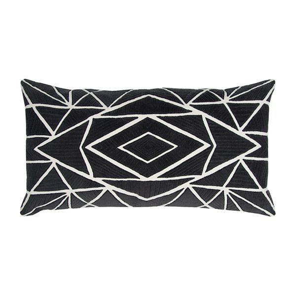 Rizzy Home Hunter Geometric Decorative Pillow
