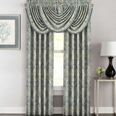 Queen Street Mackinley Rod-Pocket Curtain Panel