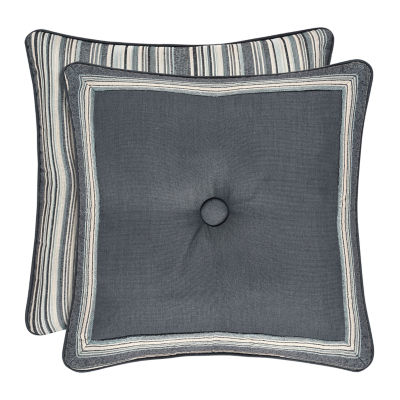 Queen Street Mackinley 18 Inch Square Embellished Throw Pillow