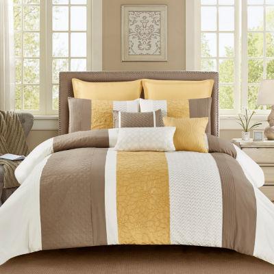 Wonder Home Laurel 8PC Embellished Comforter Set