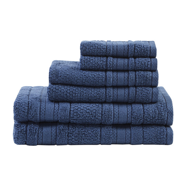 Remy Cotton Super Soft Solid 6-pc. Quick Dry Bath Towel Set