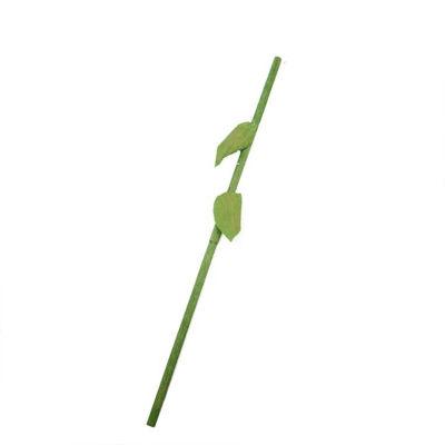 """39.5"""" Green Decorative Spring Floral Stem Rod"""""""