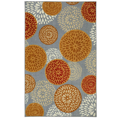 Mohawk Home Aurora Foliage Friends Rectangular Rugs