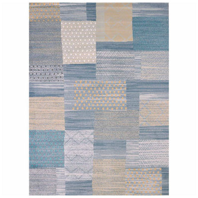 United Weavers Modern Textures Collection Applique Rectangular Rug