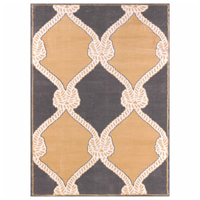 United Weavers Modern Textures Collection Cordage Rectangular Rug