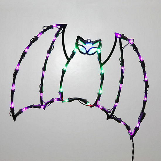"""Vickerman 16"""" Bat Wire Silhouette with 35 LED Lights"""