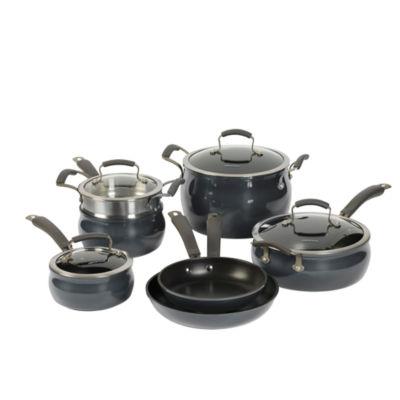 Epicurious 11-pc. Aluminum Dishwasher Safe Cookware Set