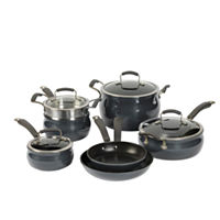 Epicurious 11-pc. Aluminum Dishwasher Safe Cookware Set Deals