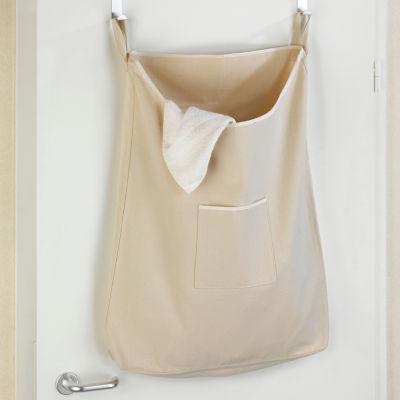 Wenko Over-The-Door Canguro Laundry Bin