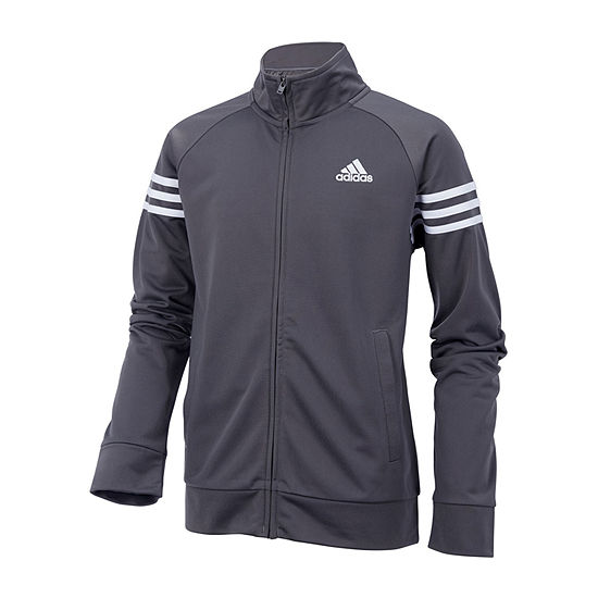 5852e3e2f adidas Boys Track Jacket-Big Kid - JCPenney