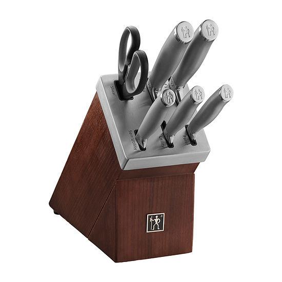 Henckels Modernist 7-Pc. Self Sharpening Knife Block Set