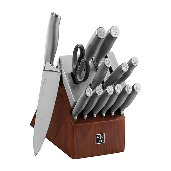 Henckels International Modernist 14-Pc. Self Sharpening Knife Block Set