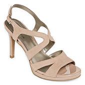 7d694369113 GC Shoes Womens Miami Peep Toe Block Heel Lace-up Pumps - JCPenney