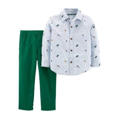 Carter's 2-pc. Stripe Pant Set - Toddler Boys