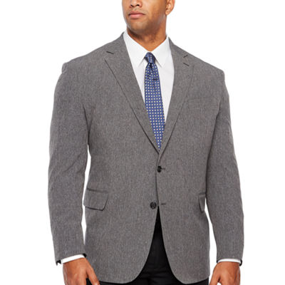 Stafford Life In Motion Stretch Classic Fit Tonal Sport Coat - Big and Tall