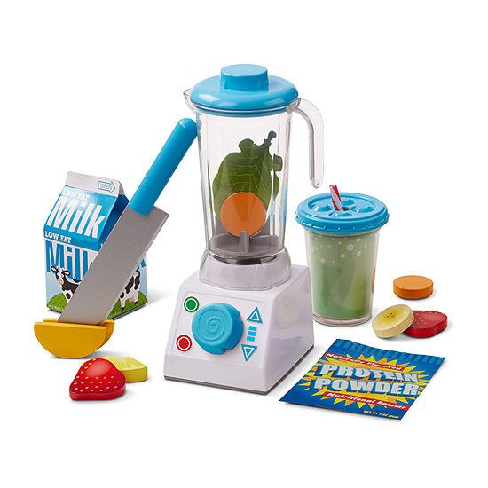 Melissa & Doug Smoothie Maker Blender Set 23-Pc Play Kitchen 23-pc. Play Kitchen