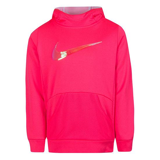 Nike Logo Hoodie - Girls Preschool