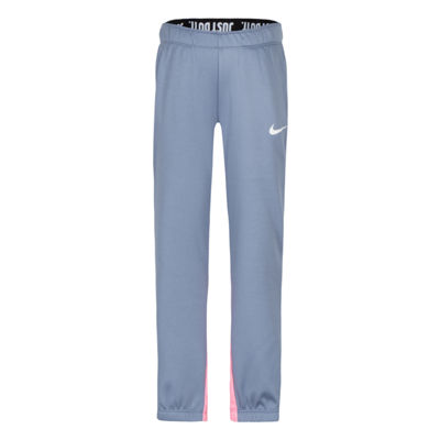 Nike Colorblock Back Detail Logo Pant - Girls Preschool