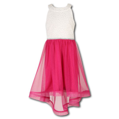 Speechless Sleeveless Shirt Dress Girls