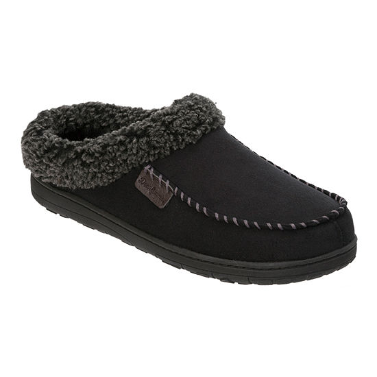 Dearfoams Moccasin Clog with Cuff