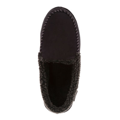Dearfoams® Microsuede Moccasin with Whipstitch