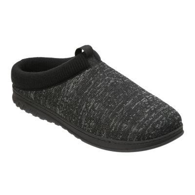 Dearfoams® Knit Clog with Rib Knit Cuff