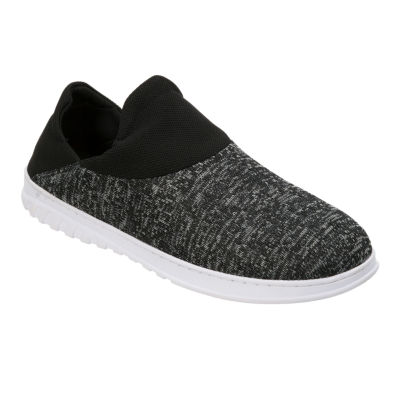 Dearfoams® Knit Closed Back Slip-On Slippers