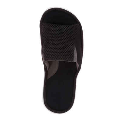 Dearfoams® Mixed Mesh Slide with Gore