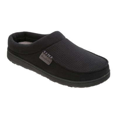 Dearfoams® Perforated Moccasin Toe Clog Slippers - Wide