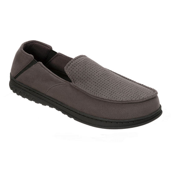 Dearfoams® Perforated Moccasin Slippers with Gore