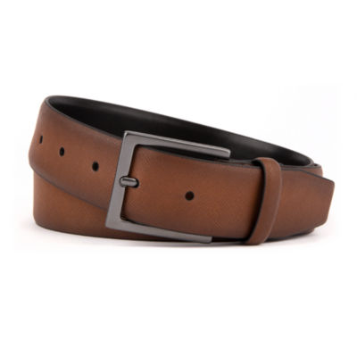 Van Heusen® Saffiano Faux Leather Flex Belt Base