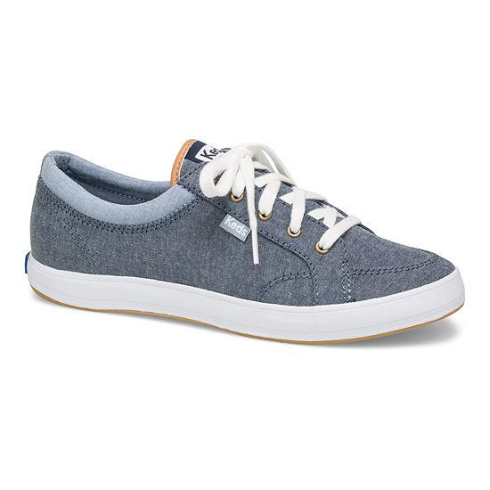 Keds Womens Center Denim Slip-On Shoe Round Toe