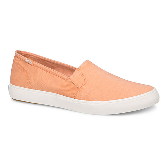 Keds Womens Clipper Washed Solids Slip-On Shoe Round Toe