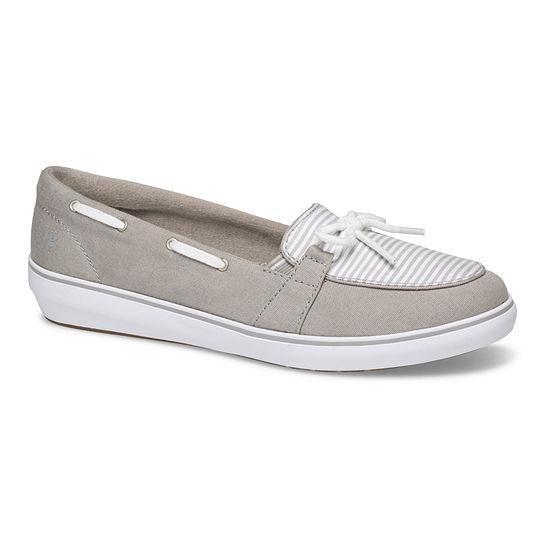 Grasshoppers Womens Windsor Bow Slip-On Shoe Round Toe
