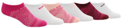 adidas 6pk Superlite Girls 6 Pair No Show Socks-Big Kid