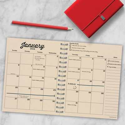 Tf Publishing 2019 Inspire Medium Weekly Monthly Planner