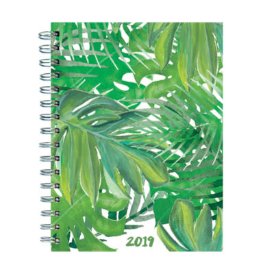 Tf Publishing 2019 Leaves Medium Weekly Monthly Planner