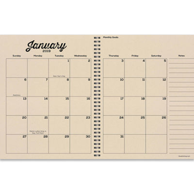 Tf Publishing 2019 Geometric Large Weekly Monthly Planner