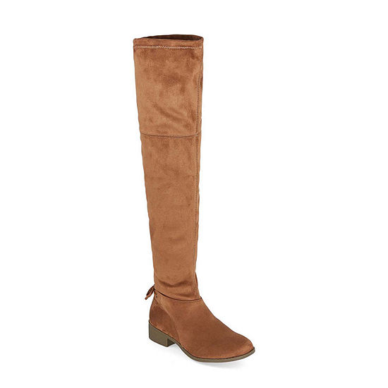 Arizona Womens Pines Block Heel Over the Knee Boots