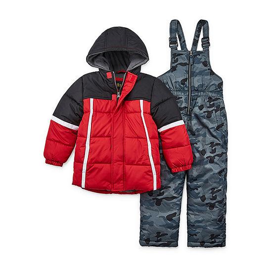 iXtreme Boys Heavyweight Camouflage Snow Suit-Preschool
