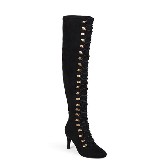 Journee Collection Womens Trill Dress Boots Stiletto Heel